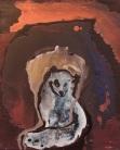 Fox from Lapland, acrylic on canvas, 60 x 40cm